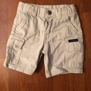Tommy Hilfiger boy's khaki shorts